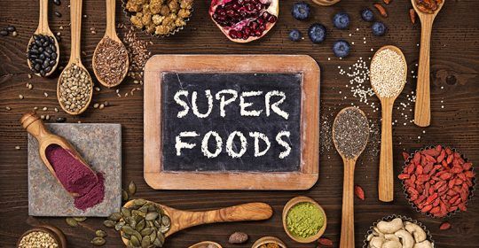 Superfoods in de Apotheek